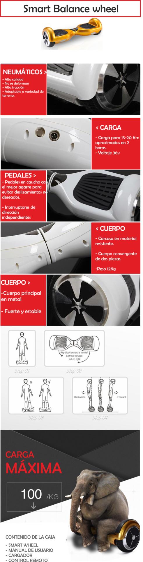 Smart Balance Wheel - malumeta - dashboard